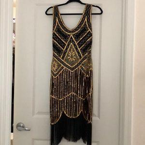 Dresses & Skirts - Gatsby Inspired Vintage Flapper Dress
